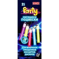 Светящиеся подвески 2шт, 15см, цвета в ассортименте