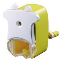 Точилка механическая Коровка ACTION!, пластиковый корпус, блистер c е/подвесом, ассорти 4 цвета