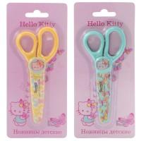Ножницы детские ACTION!, Hello Kitty, 130 мм, печать на лезвиях