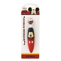 Ручка с блестками DISNEY,МИККИ, 2 дизайна,блистер с европодвесом