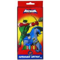 """Набор карандашей цветных ACTION! """"Бэтмен:отважный и смелый"""" ,европодвес, 12 цв."""
