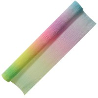 Бумага крепированная РАДУГА, рулон 250*50см