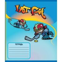 Тетрадь ACTION! HOT FOOT, мелованный картон, линейка,ф. А5, 18 л., 4 дизайна