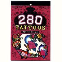 Альбом с наклейками для тела БОДИ-АРТ, 280 наклеек, ассорти 2 дизайна