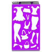 Блокнот для эскизов «Скетчбук. Дизайн одежды»